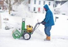 best snow blower man-work-winter-snow
